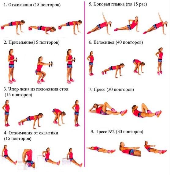 Эффективные упражнения для похудения ляшек